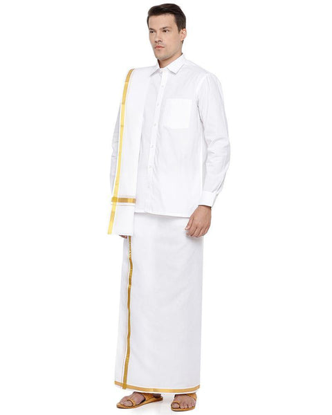 Kalyanam 3in1 White Set