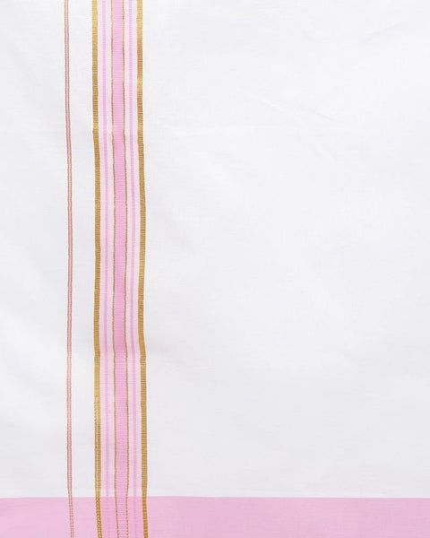 Viswasam - Pink Fancy Single Dhoti