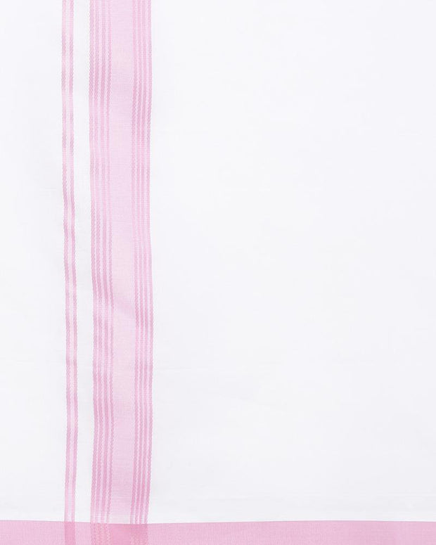 Celebrate - Pink Fancy Double Dhoti