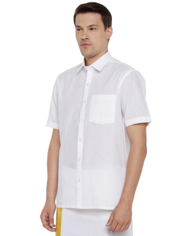 Gold Cold Starch - White Shirts Half