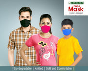 Face Mask - Colour - Pack of 3