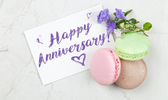 Anniversary Gift Card - From $10 to $100