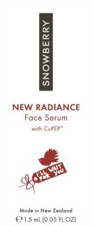 New Radiance Face Serum Sample