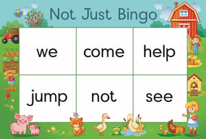 Not Just Bingo - Level 1 (Grade 1)