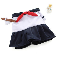 Load image into Gallery viewer, Schoolgirl Cosplay pet costume