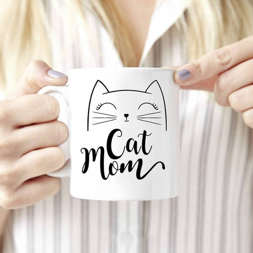 Best Cat Mom Ever coffee mug - party-paw