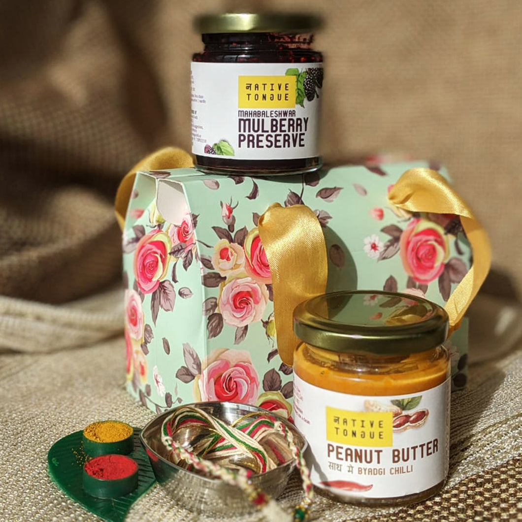 Mulberry Preserve & Peanut Butter with Byadgi Chilli Combo