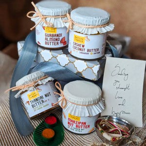 The Four Premium Nut Butters Hamper