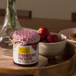 Strawberry Preserve with Kerala Vanilla