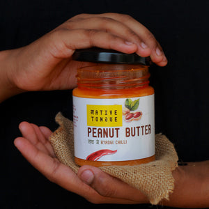 Peanut Butter with Byadgi Chilli
