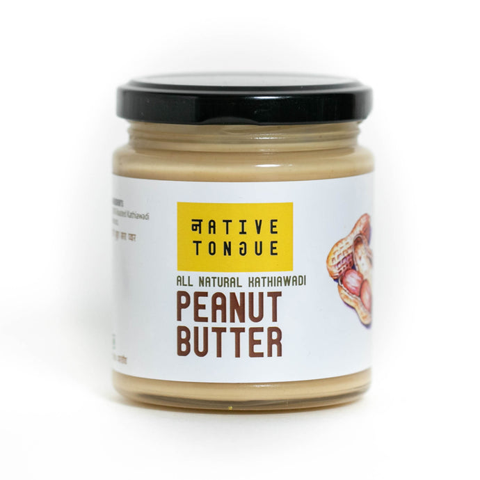 Kathiawadi Peanut Butter (Unsweetened, All Natural)