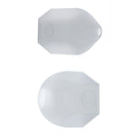 Chrome Steel Nut Covers - Standard - 1 1/2 Inch By 1 1/2 Inch - Individual