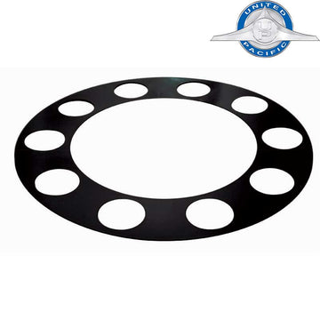 Black Plastic Rim Protector with 1 7/8 Inch Holes