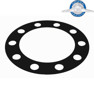 Black Plastic Wheel Protector with 1 Inch Holes