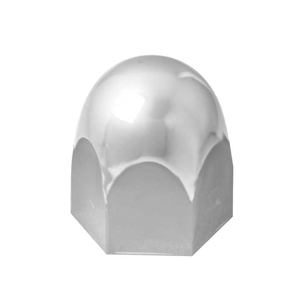 Chrome Steel 40.6 mm Push-On Standard Lug Nut Cover