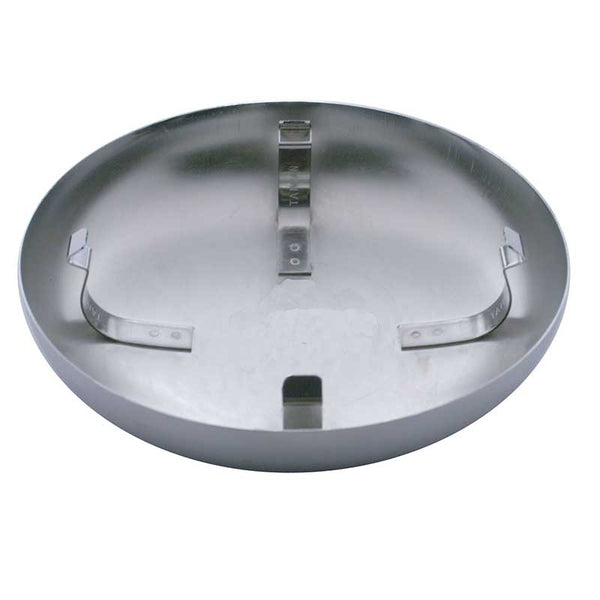Chrome or Stainless Steel Dome Horn Covers in 7 Options