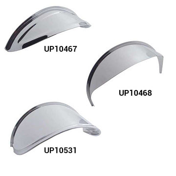 7 Inch Round Headlight Visor in 3 Options