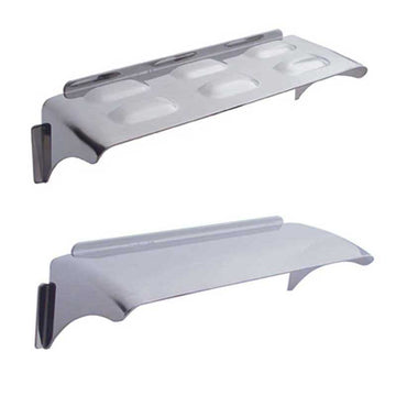 Stainless Steel 4 In x 6 In Dual Rectangular Headlight Visor