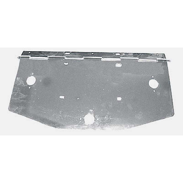 Chrome Angled License Plate Holder with Light Holes in 2 Sizes