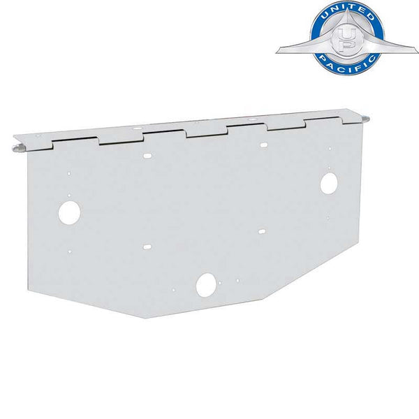 License Plate Holder w/ Peterbilt Style Light Holes in 2 Sizes