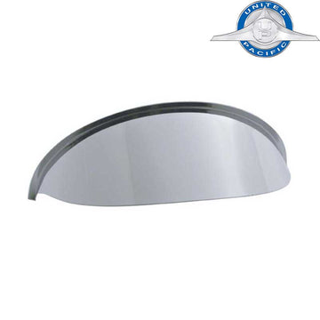 Stainless 5 3/4 Inch Round Headlight Visor