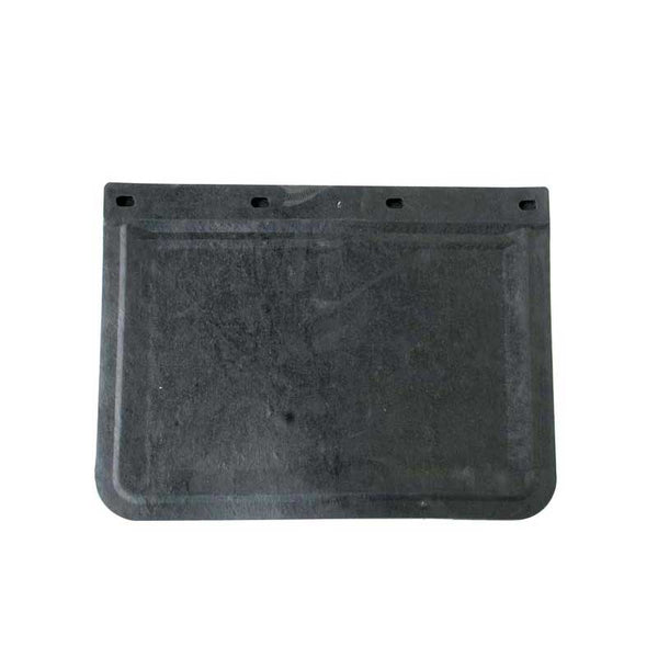 Black Rubber Mud Flap in 2 Sizes
