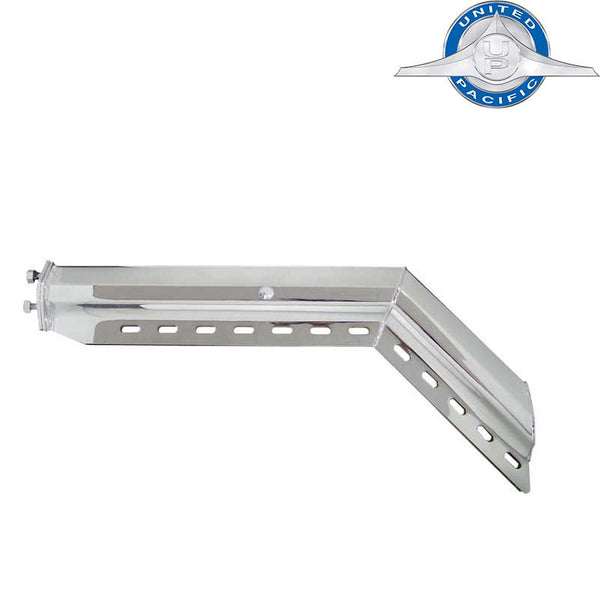 45 Degree Stainless Mud Flap Hangers 2 1/2 Inch Bolt Pattern
