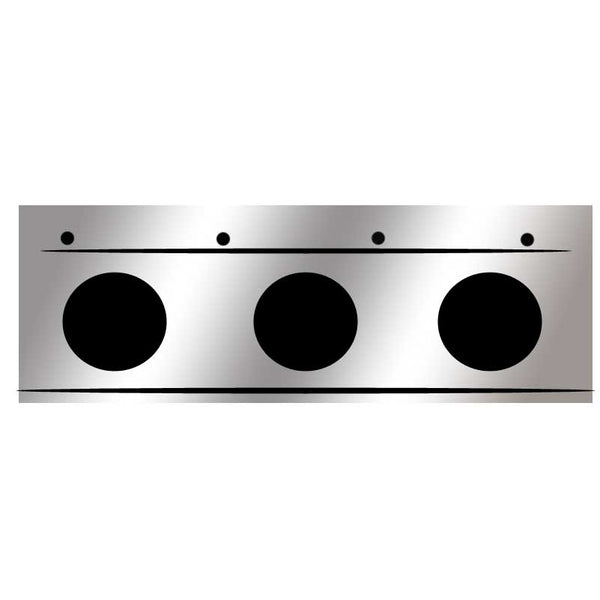 Universal Flap Light Bars W/ End Caps