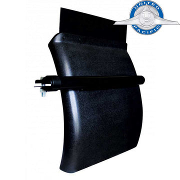 Black Heavy Duty Poly Quarter Fender 24 Inch x 24 Inch