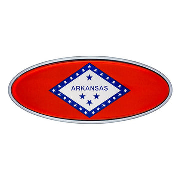 Peterbilt Arkansas Flag Emblem