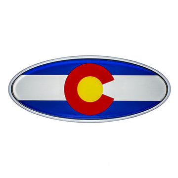 Peterbilt Colorado Flag Emblem