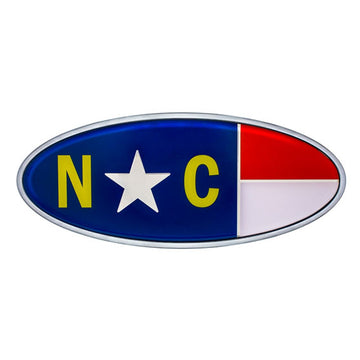 Peterbilt North Carolina Flag Emblem