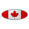 Peterbilt Canadian Flag Emblem
