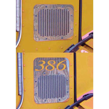 Peterbilt 386 Fresh Air Intake Cover