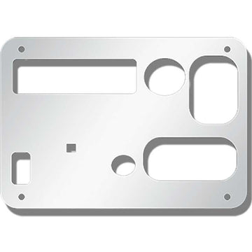 Peterbilt 389 Sleeper A/C Control Panel Cover