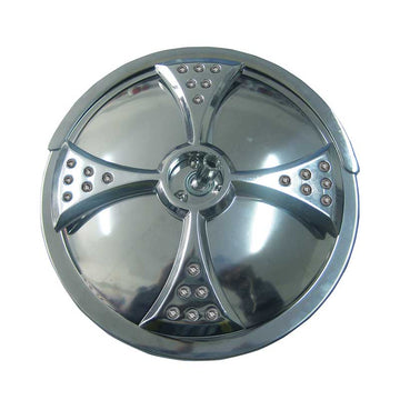 8 Inch Convex Stainless Steel Mirror with Center Bracket