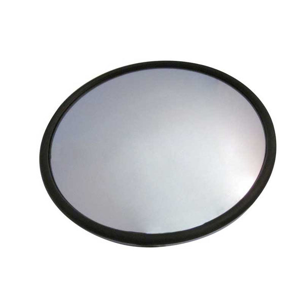Mirror Hood Mount Curved Arm with Rectangular Base