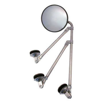 "8"" Convex Stainless Steel Mirror W/ Options M-2004) Stainless Steel Tripod"