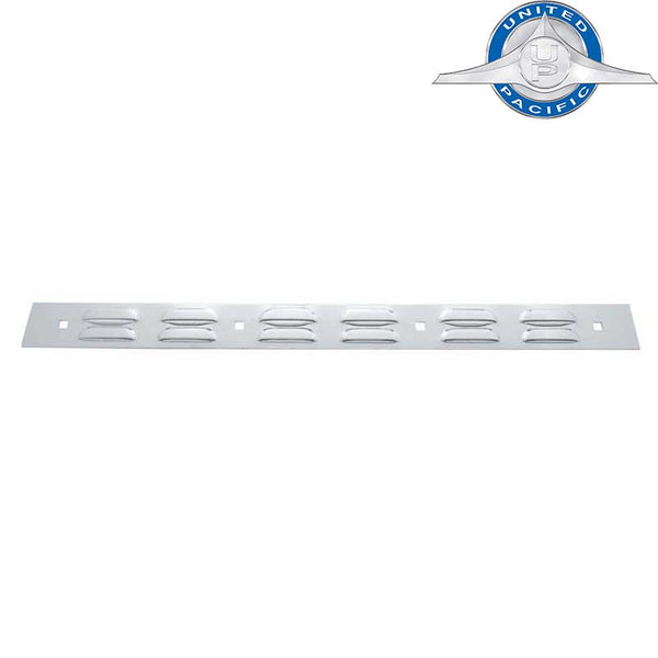 "Louvered 2"" x 24"" Mud Flap Top Plate"