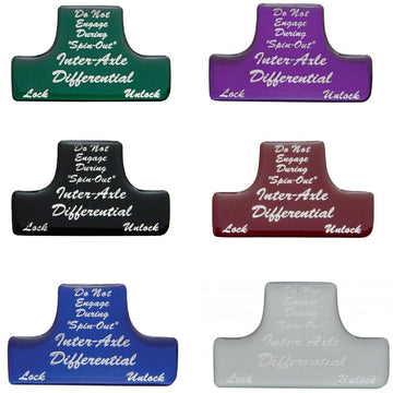 Axle Differential Switch Guard Sticker Only