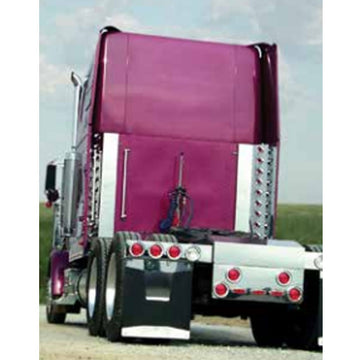 "Freightliner 55.25"" Inner Extension Rear Vertical Bars"