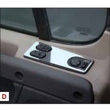 2008+ Freightliner Cascadia Door Window/Mirror Controls Trim