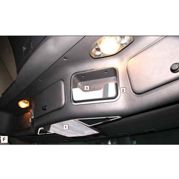 2008+ Freightliner Cascadia Headliner & Sunglasses Holder Trim