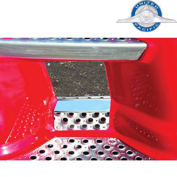 Stainless 2007+ Kenworth T660/T680/T700 Back Lower Kick Plate