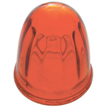 Small Amber Glass Marker Light Lens