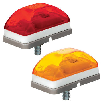 Rectangular Clearance And Marker Lights With Stud Mount