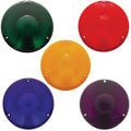 Round Colored Light Lenses For 3 Inch Turn Signal Lights