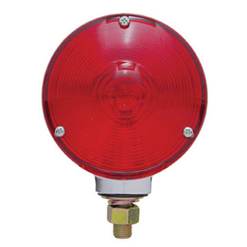 Single Face Turn Signal Light With Red Lens