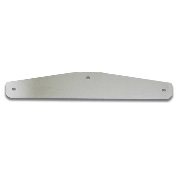Backing Plate for Mud Flap Bottom Plate W/ Holes in 8 Sizes