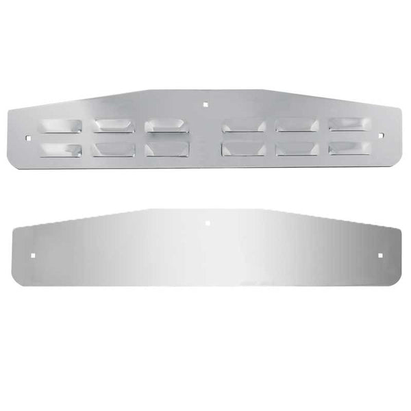 "14"" Louver Flat Style Mud Flap Bottom Plates"